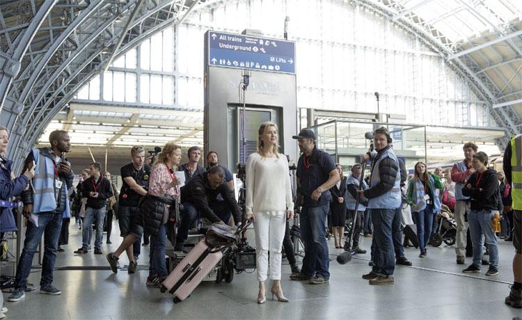 Bridget (Renée Zellweger) am Gatwick Airport © Studiocanal