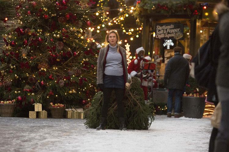 Bridget (Renée Zellweger) steckt mitten in den Weihnachtsvorbereitungen am Borough Market © Studiocanal