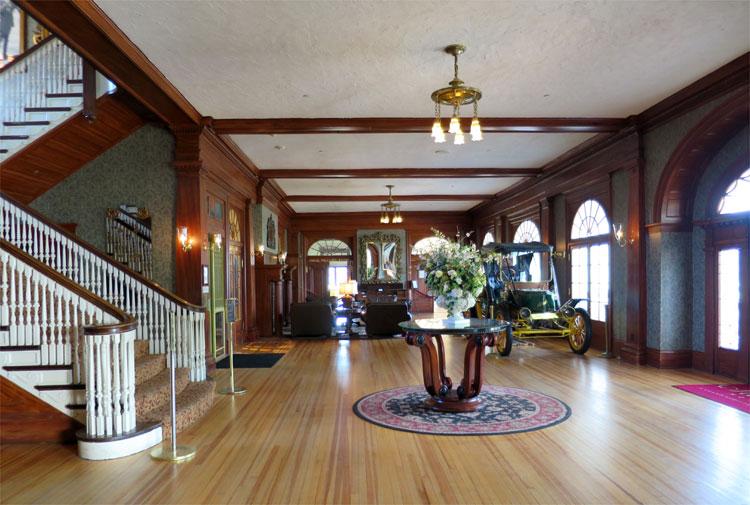 Lobby, The Stanley Hotel, Estes Park, Colorado © Andrea David