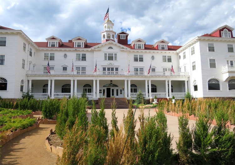 The Stanley Hotel, Estes Park, Colorado © Andrea David