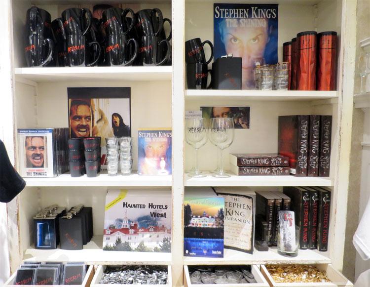 """""""Shining"""" Souvenirs, The Stanley Hotel, Estes Park, Colorado © Andrea David"""
