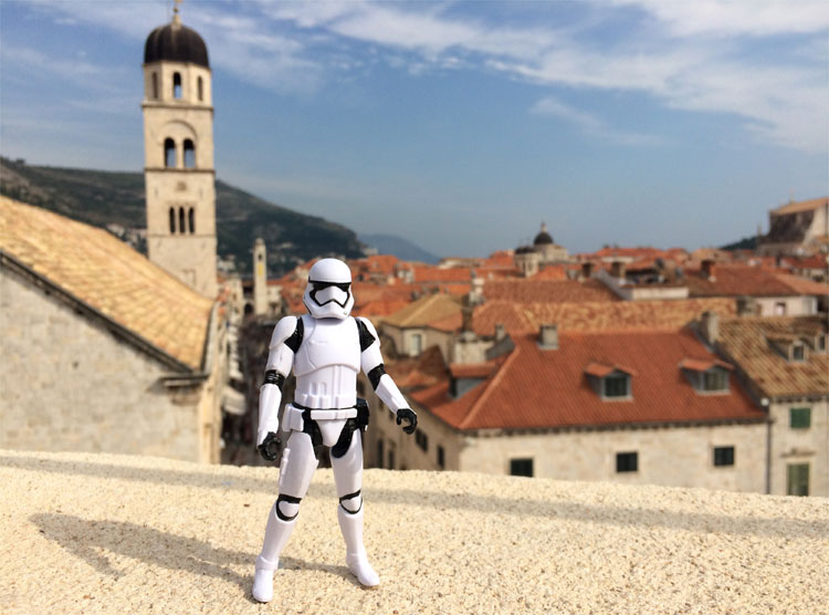 "Dubrovnik war Drehort für ""Star Wars 8"" © Andrea David"