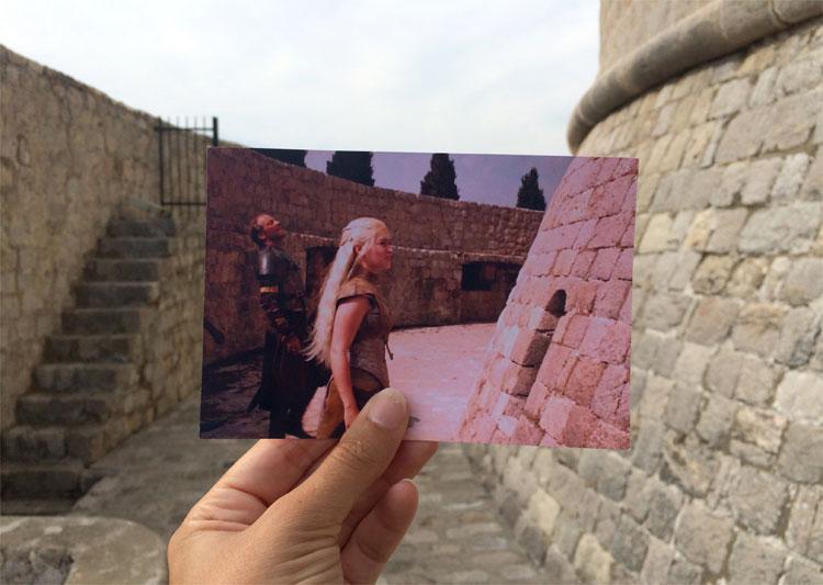 """Der Minčeta Turm als Drehort für das """"Haus der Unsterblichen"""", Dubrovnik © Andrea David / HBO"""