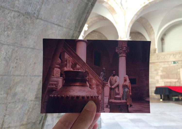 Der Rektorenpalast als Haus des Gewürzkönigs, Dubrovnik, © Andrea David / HBO