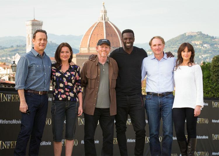 """Dreh von """"Inferno"""" in Florenz © 2015 Sony Pictures Releasing GmbH"""