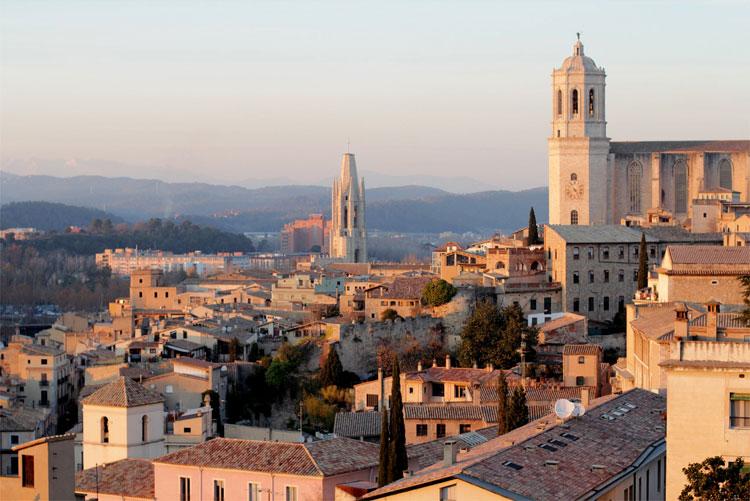 Filmstadt Girona, Katalonien
