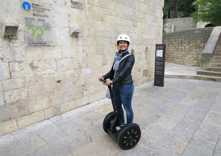 """Game of Thrones"" Segway-Tour, Girona © Andrea David"