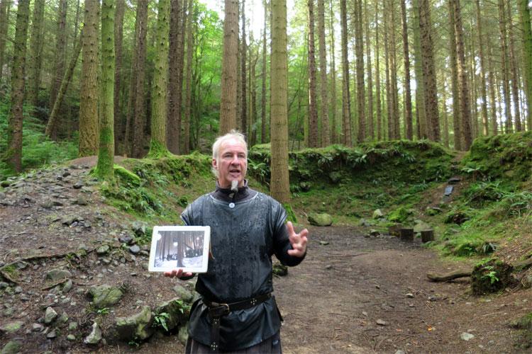 "Der ""Verfluchte Wald"", Tollymore Forest, Nordirland © Andrea David"