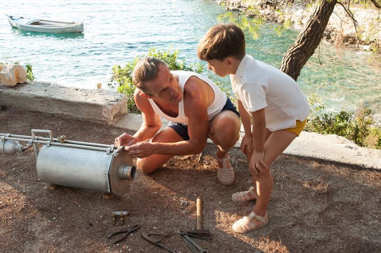 """Filmszene aus """"Jacques - Entdecker der Ozeane"""" in Kroatien © Jean-Marie Leroy"""
