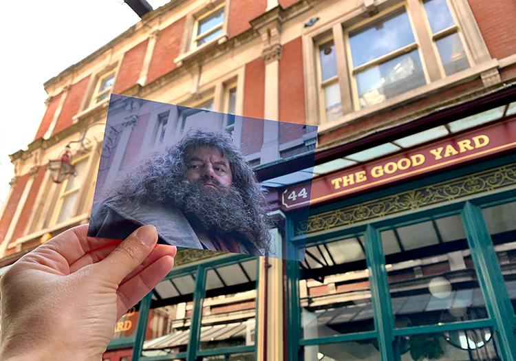 """Harry Potter"" Drehort am Leadenhall Market, London"