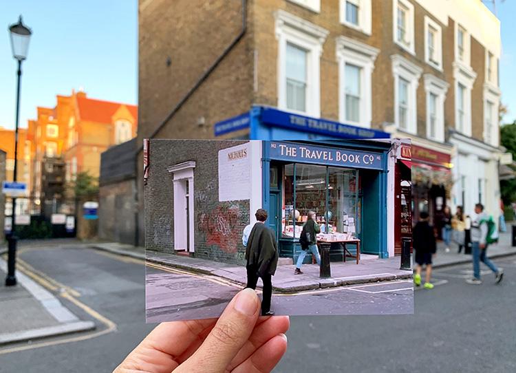 """""""Notting Hill"""" Drehorte, London"""