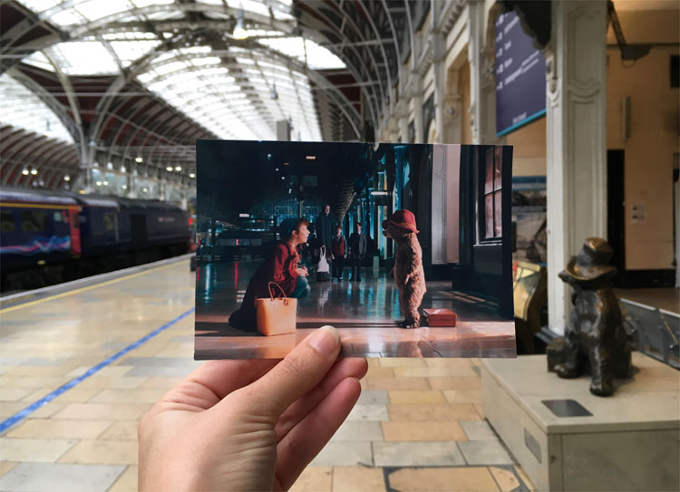 """Paddington"" Drehort, Paddington Station, London © Andrea David"