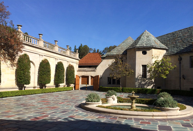 Greystone Park & Mansion, Los Angeles © Andrea David