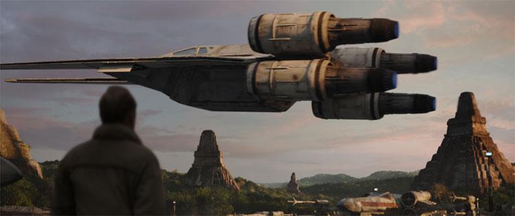 Rogue One: A Star Wars Story, Schauplatz: Yavin IV © 2016 Lucasfilm Ltd. All Rights Reserved