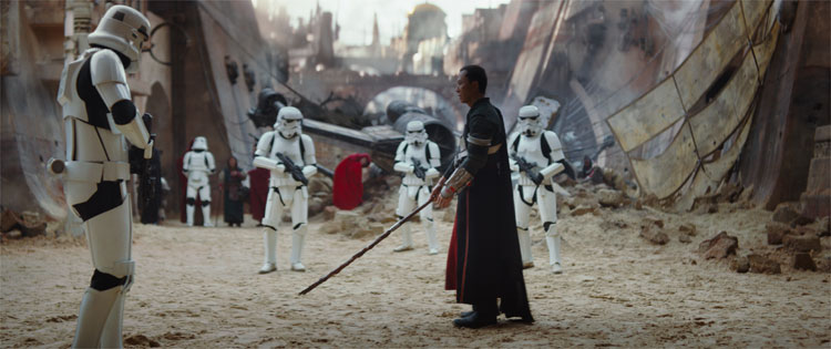 Rogue One: A Star Wars Story, Schauplatz: Jedha © 2016 Lucasfilm Ltd. All Rights Reserved