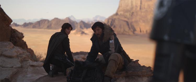 Rogue One: A Star Wars Story, Drehort: Jordanien © 2016 Lucasfilm Ltd. All Rights Reserved