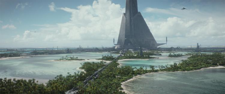 Rogue One: A Star Wars Story, Schauplatz: Scarif © 2016 Lucasfilm Ltd. All Rights Reserved