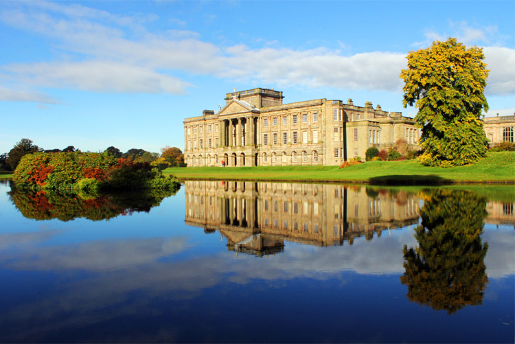 Lyme Park House, Peak District, England © Mighty Traveliers