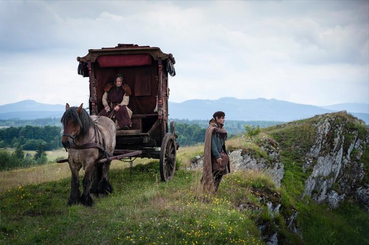 "Filmszene aus ""Der Medicus"" in Elbingerode am Galgenberg"