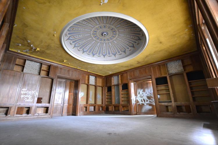 """Resident Evil"" Drehort, Raum der Pokale, Offizierscasino, Kaserne Krampnitz, Potsdam"