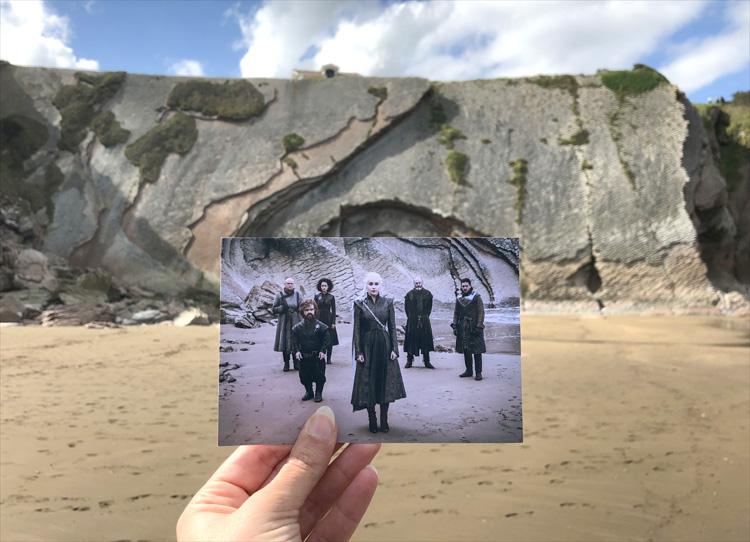 """Game of Thrones""-Drehort Playa de Itzurun, Zumaia, Baskenland"