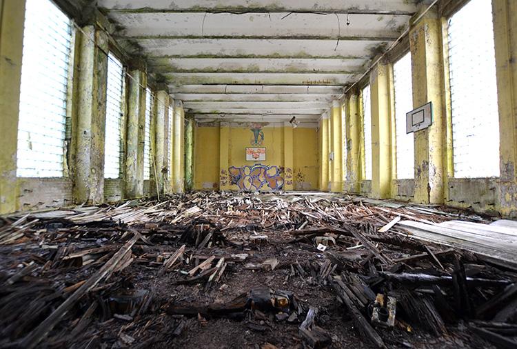 Turnhalle in der Kaserne Krampnitz, Potsdam