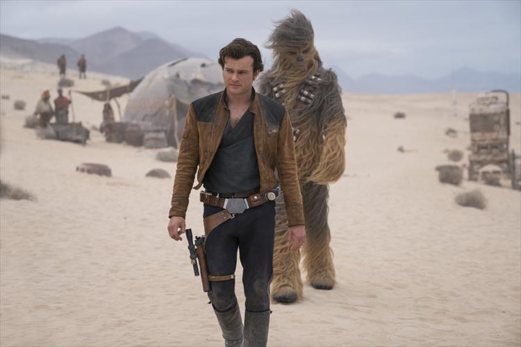 """Szene aus """"Solo: A Star Wars Story"""" auf Fuerteventura"""