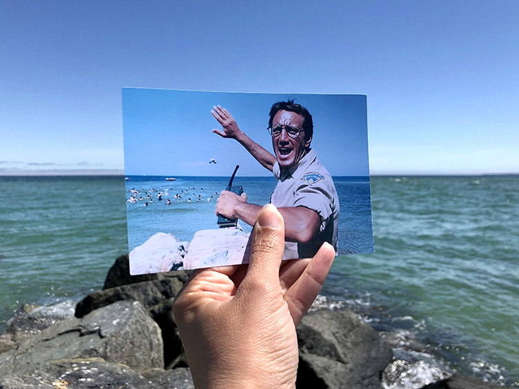 """Drehorte aus """"Der Weiße Hai"""" auf Martha's Vineyard"""