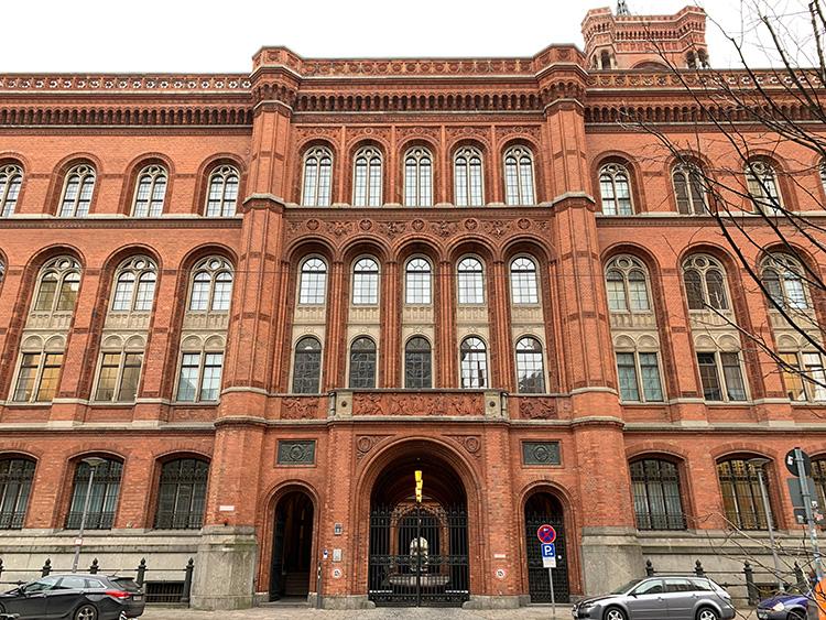 Das Rote Rathaus in der Jüdenstraße, Berlin