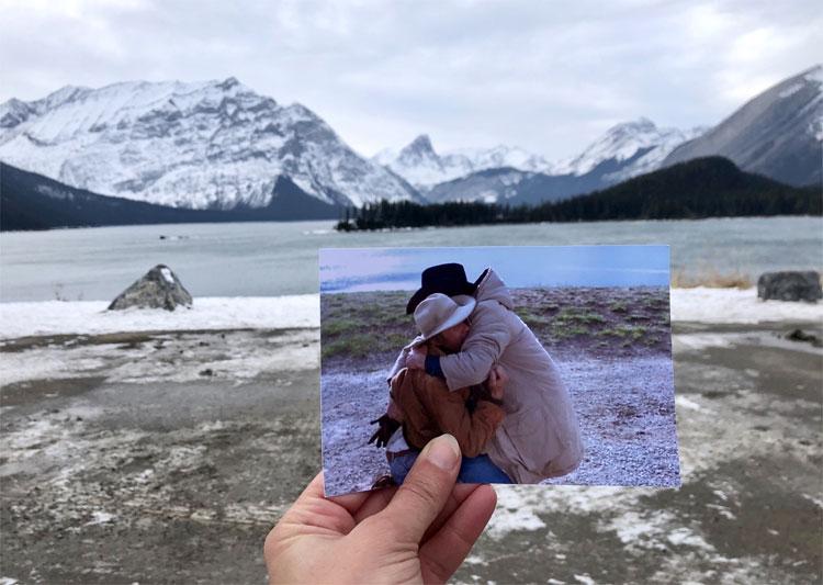 """Brokeback Mountain"" Drehort, Upper Kananaskis Lake, Alberta"