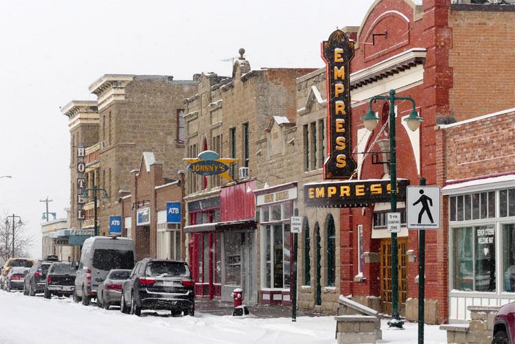 Main Street, Fort Macleod, Alberta