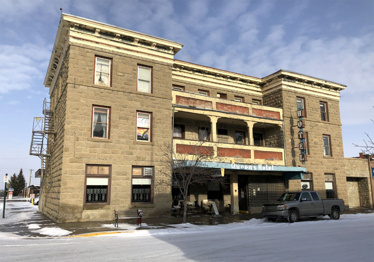 """""""Brokeback Mountain""""-Drehort Queen's Hotel in Fort Macleod, Alberta"""