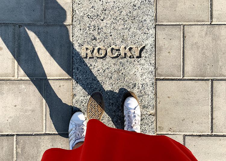 Auf den Spuren von Rocky