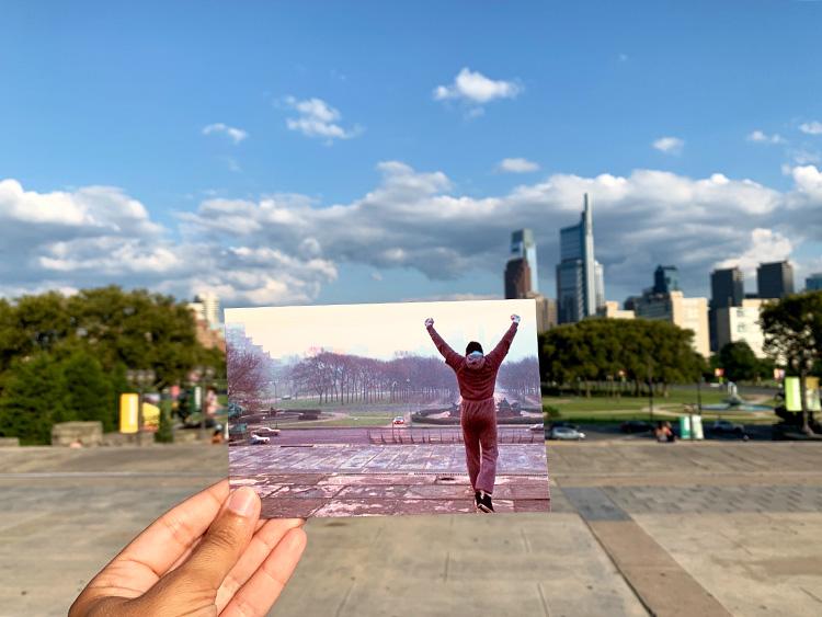 Auf den Spuren von Rocky in Philadelphia