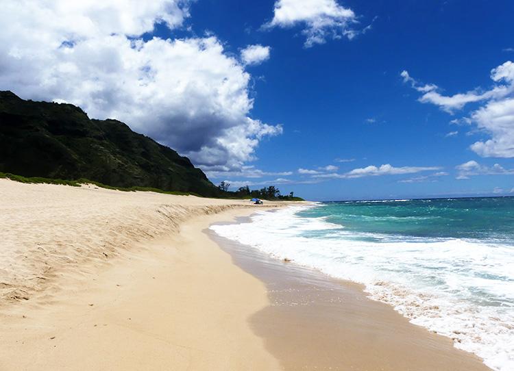 Mokuleia Beach, O'ahu