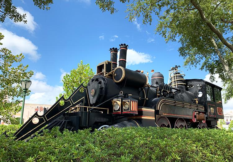 """Zug aus """"Zurück in die Zukunft"""", Universal Studios Florida, Orlando"""