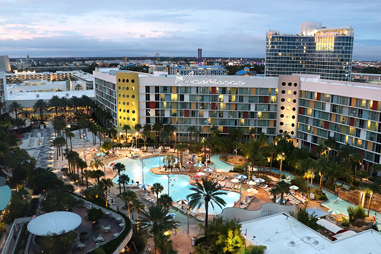 Cabana Bay Beach Resort, Orlando