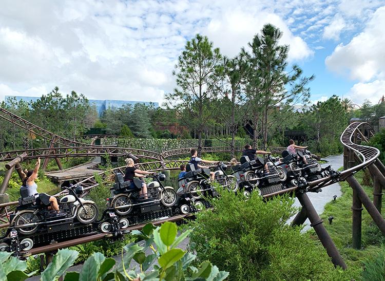Hagrid's Motorbike Ride, Universal's Islands of Adventure, Orlando