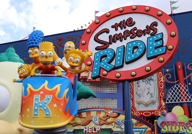 The Simpsons Ride, Universal Studios Florida, Orlando