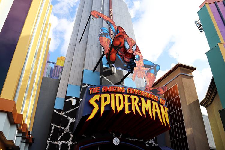 The Amazing Adventures of Spider-Man, Universal's Islands of Adventure, Orlando