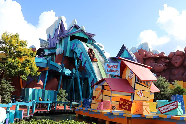 Toon Lagoon, Universal's Islands of Adventure, Orlando