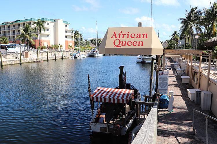"""""""African Queen"""" in Key Largo, Florida Keys"""
