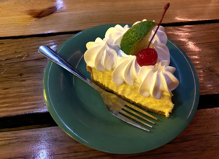 Key Lime Pie im Hogfish Bar & Grill, Florida Keys