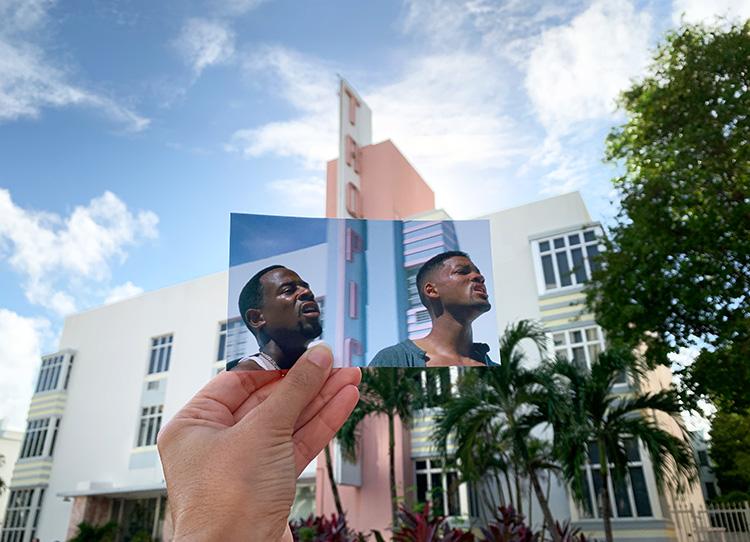 "Drehort aus ""Bad Boys"", Tropics Hotel, Miami, Florida"