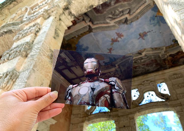 "Drehort aus ""Iron Man 3"", Viscaya Museum, Miami, Florida"