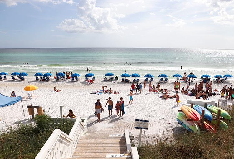 Strand in Seaside, Florida