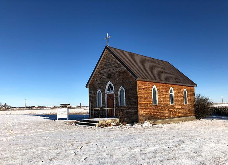 """""""Brokeback Mountain""""-Kapelle, Alberta"""