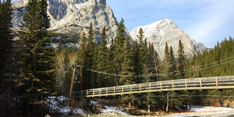 Galatea Bridge, Kananaskis Country, Alberta