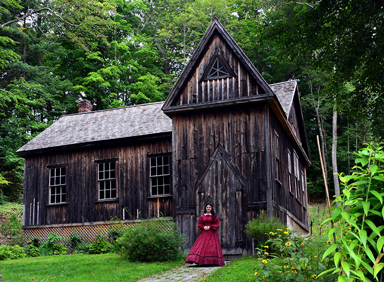 Das Orchard House in Concord, Massachusetts