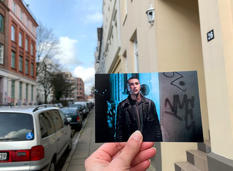 """Drehort aus """"Kurz und schmerzlos"""" an in der Gaußstraße"""